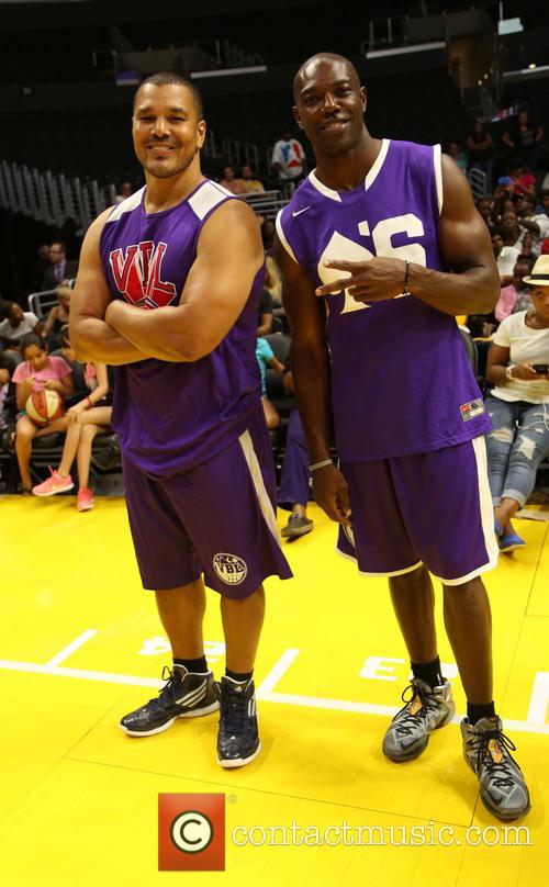 Geno Segers and Terrell Owens 1