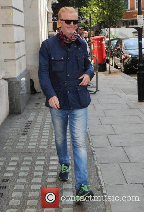 Chris Evans seen out in London