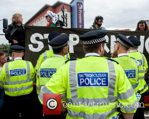 Stop the DSEI Arms Fair 2015 protest at...