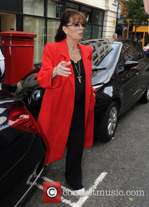 Jackie Collins at BBC Radio 2