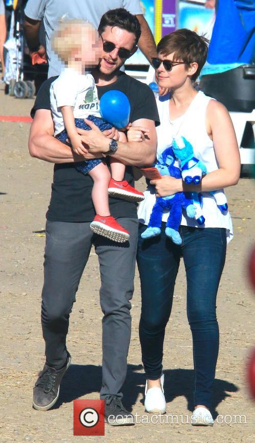 Jamie Bell and Kate Mara 2