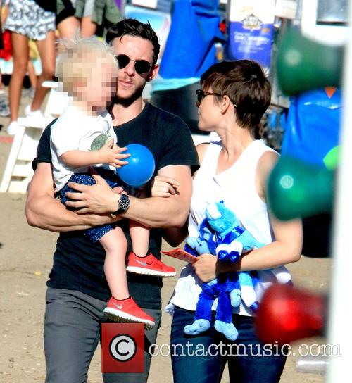 Jamie Bell and Kate Mara 4