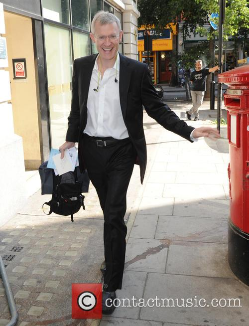 Jeremy Vine seen out in London