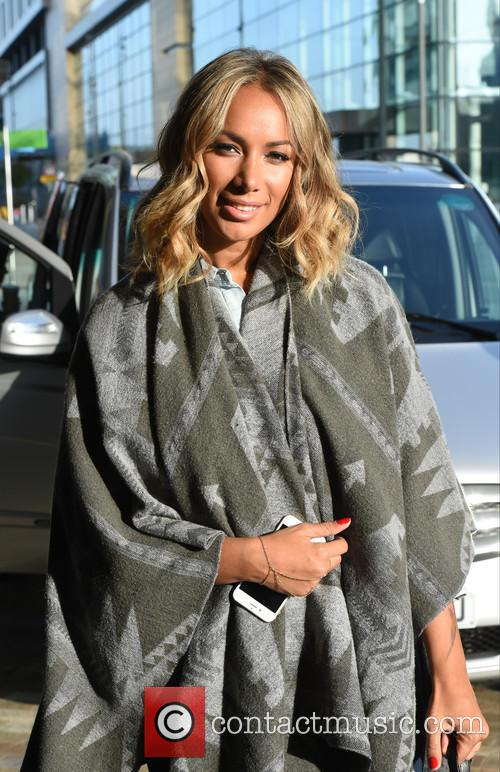 Leona Lewis at the BBC Breakfast studios