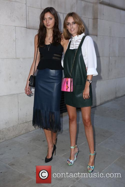 Matilda Lowther and Lady Alice Manners 1