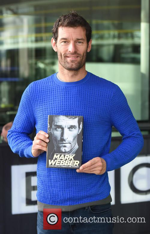 Mark Webber at the BBC Breakfast studios