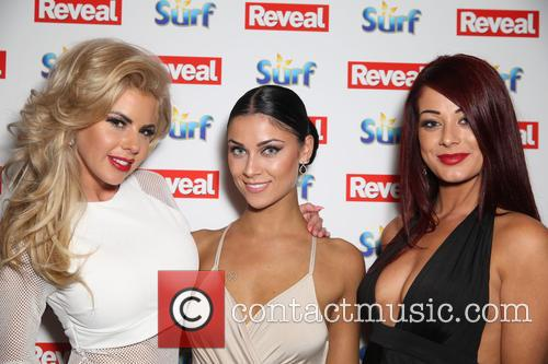 Hannah Elizabeth, Jessica Hayes and Cally Jane Beech 2