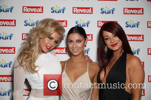 Hannah Elizabeth, Jessica Hayes and Cally Jane Beech 1