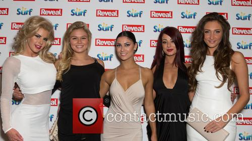 Megan Mckenna, Hannah Elizabeth, Jessica Hayes, Cally Jane Beech and Alex Weaver 1