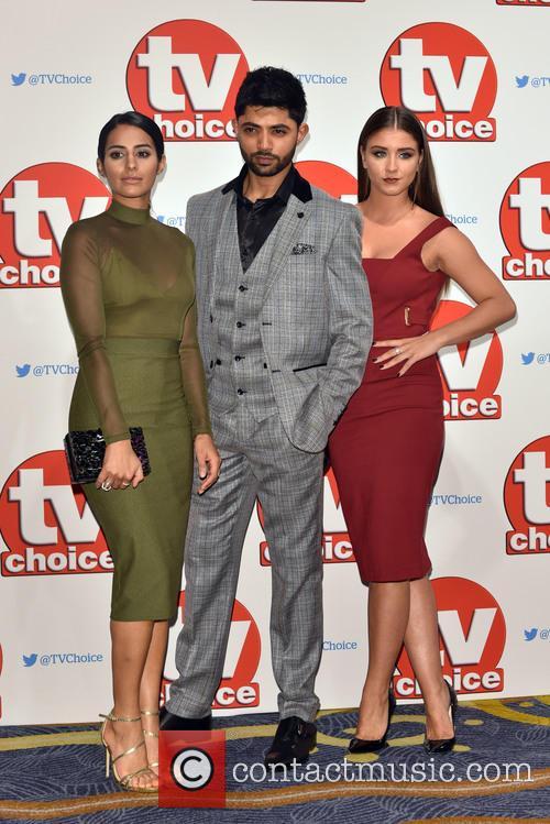 Sair Khan, Brooke Vincent and Qasim Akhtar 1