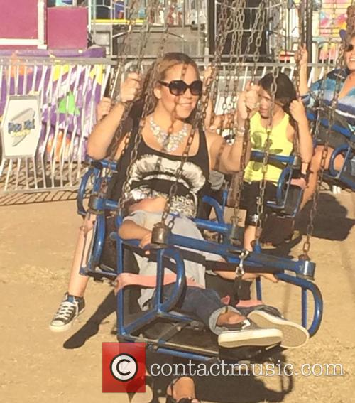 Mariah Carey and Moroccan Cannon 5
