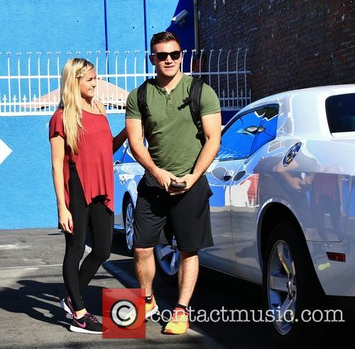 Celebrities arrive at the DWTS rehearsal studio