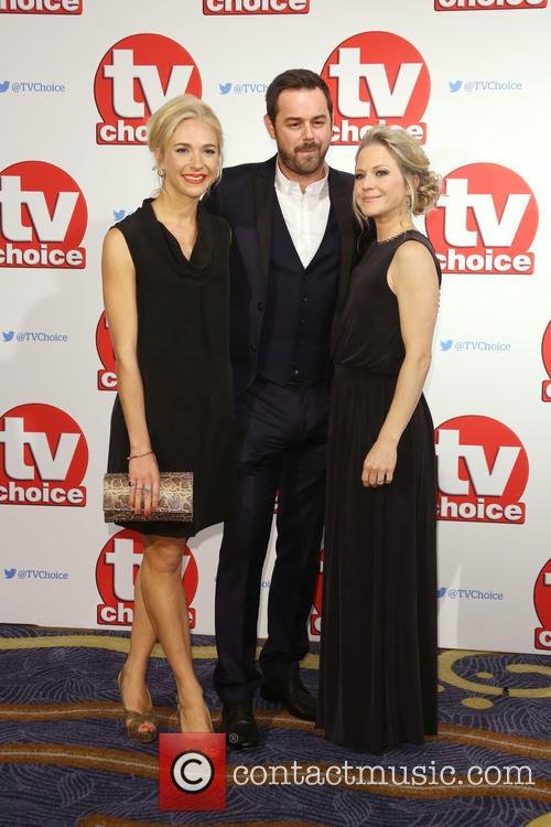Maddy Hill, Danny Dyer and Kellie Bright 1