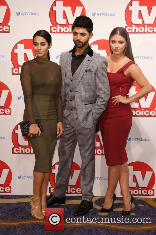 Sair Khan, Qasim Akhtar and Brooke Vincent 1