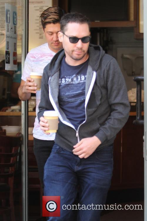 Bryan Singer has lunch in Beverly Hills