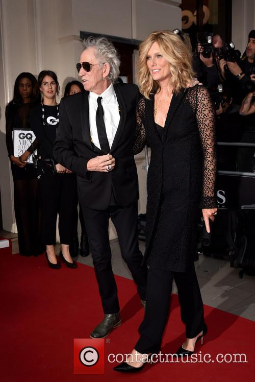 Keith Richards and Patti Hansen 4
