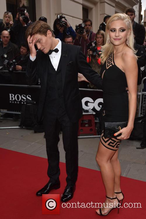 Pixie Lott and Oliver Chershire 2