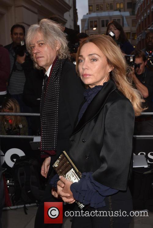 Bob Geldof and Jeanne Marine 3