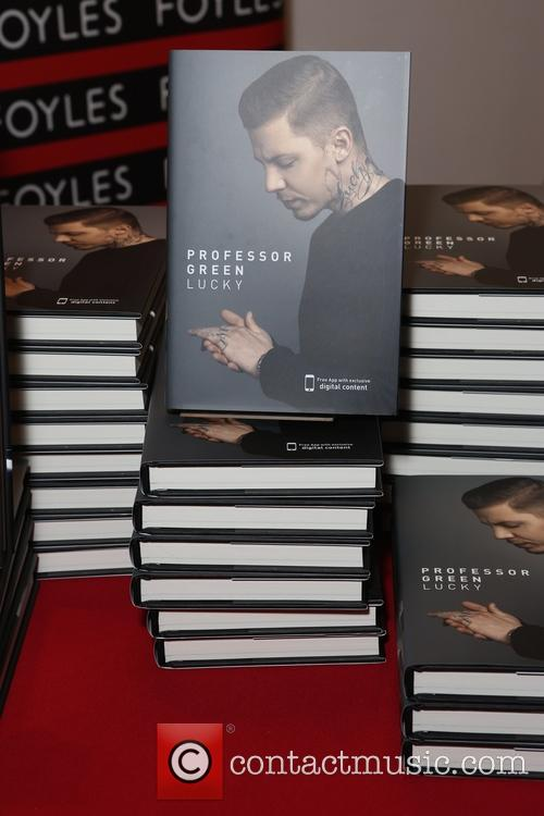 Professor Green book signing