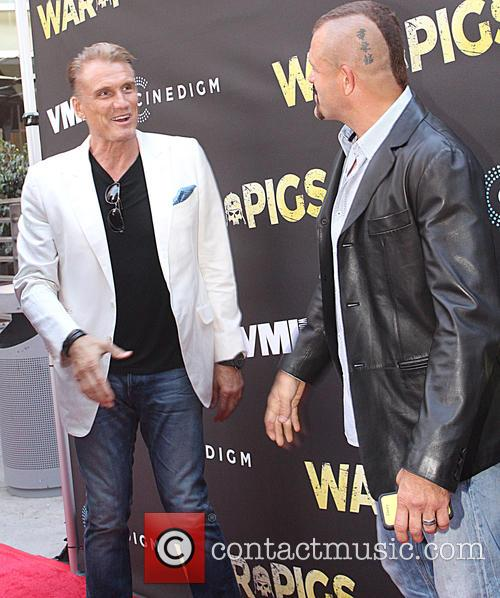 Dolph Lundgren and Chuck Liddell 1