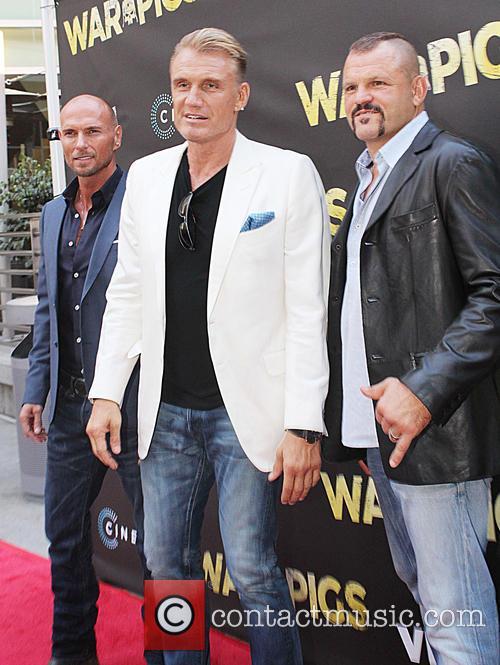 Luke Goss, Dolph Lundgren and Chuck Liddell 1