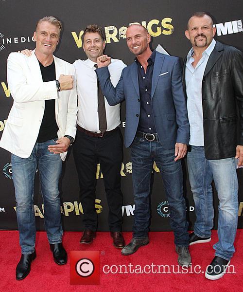 Dolph Lundgren, Luke Goss and Chuck Liddell 6