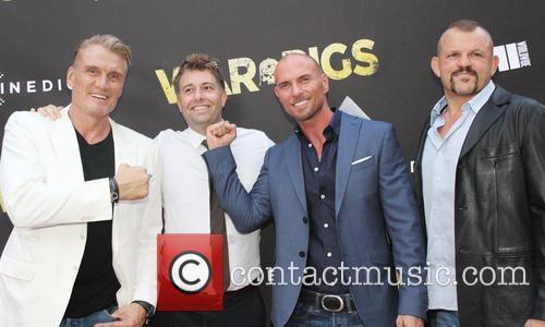 Dolph Lundgren, Luke Goss and Chuck Liddell 1
