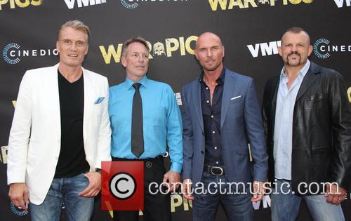 Dolph Lundgren, Luke Goss and Chuck Liddell 7