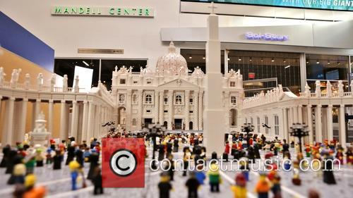 Pastor Creates Lego Vatican in Time for Pope's...