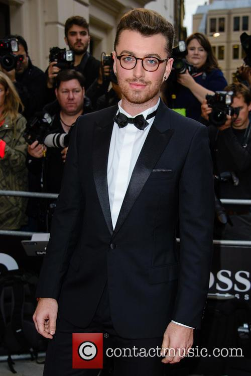Sam Smith Receives Gq'S Solo Artist Of The Year Award, Hours After Announcing 'Spectre' Theme Song