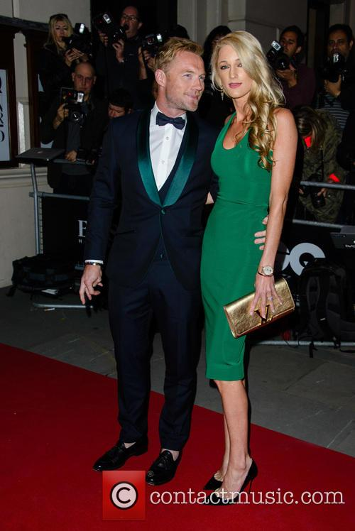 Ronan Keating and Storm Uechtritz 2