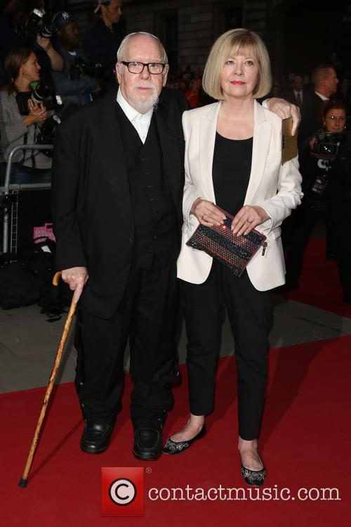 Sir Peter Blake and Chrissy Blake