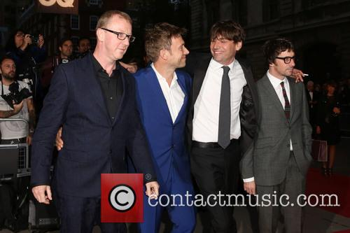 Blur, Damon Albarn, Graham Coxon, Alex James and Dave Rowntree 3