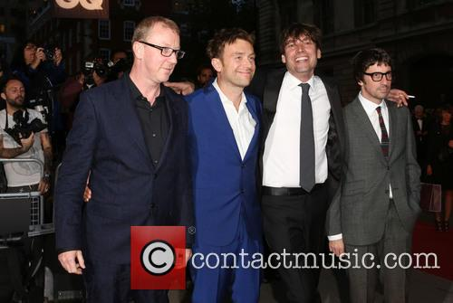 Blur, Damon Albarn, Graham Coxon, Alex James and Dave Rowntree 4