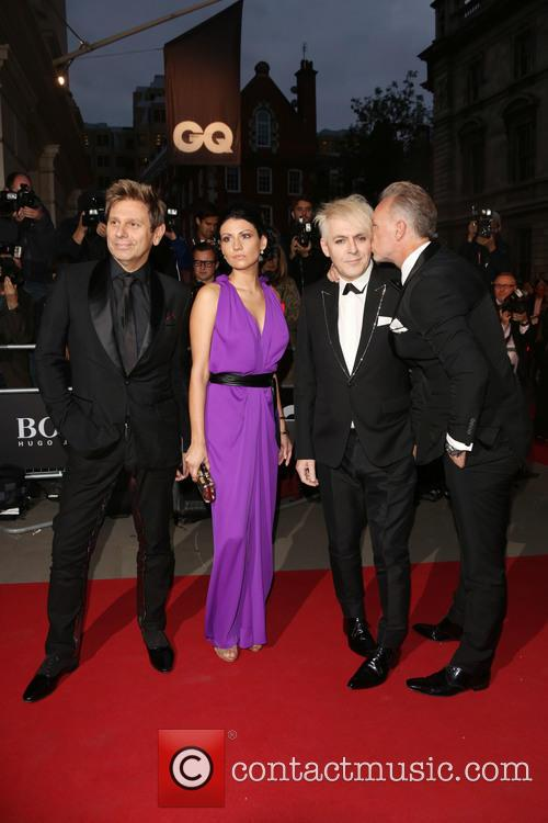 Nick Rhodes, Nefer Suvio, Roger Taylor and Gary Kemp 2