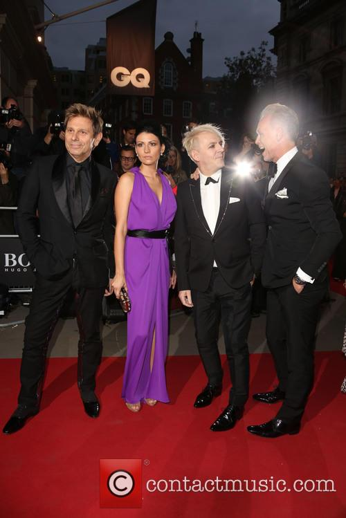 Nick Rhodes, Nefer Suvio, Roger Taylor and Gary Kemp 3