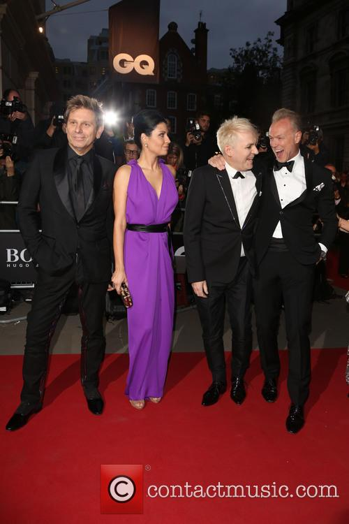 Nick Rhodes, Nefer Suvio, Roger Taylor and Gary Kemp 1