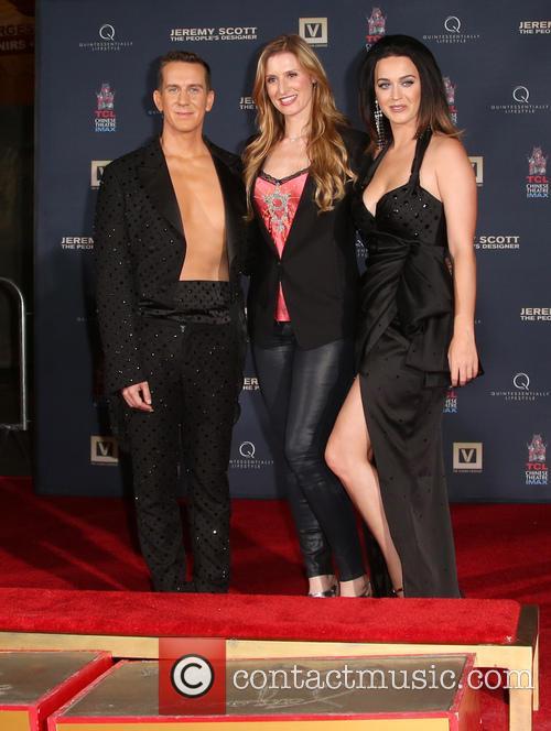 Jeremy Scott, Alwyn Hight Kushner and Katy Perry 1