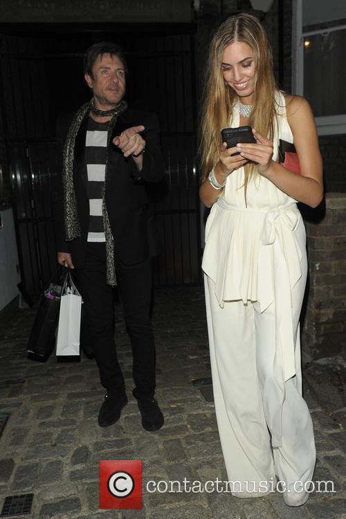 Simon Le Bon and Amber Le Bon 1