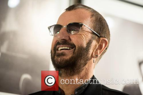Ringo Starr at the National Portrait Gallery