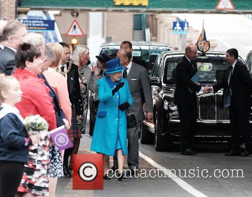 Queen Elizabeth Ii and The Duke Of Edinburgh 1