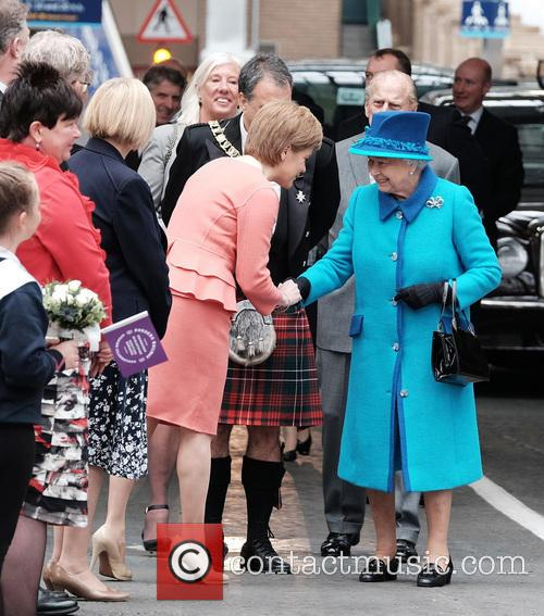 Nicola Sturgeon, Queen Elizabeth Ii and The Duke Of Edinburgh 2