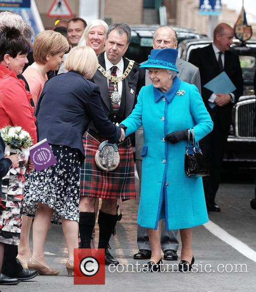 Tricia Marwick Msp, Queen Elizabeth Ii and The Duke Of Edinburgh 1
