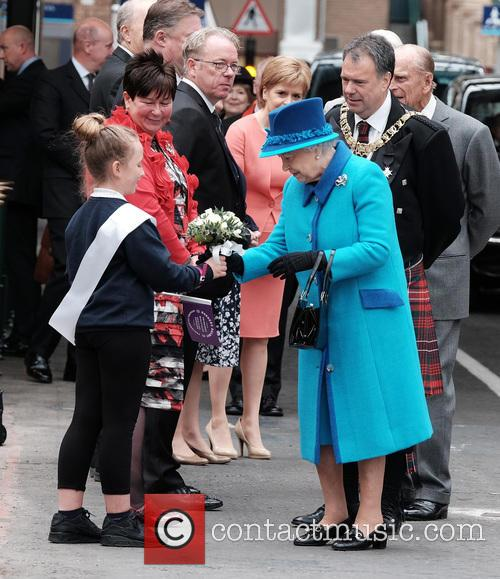 Queen Elizabeth Ii, The Duke Of Edinburgh and The Rt. Hon. Donald Wilson 1