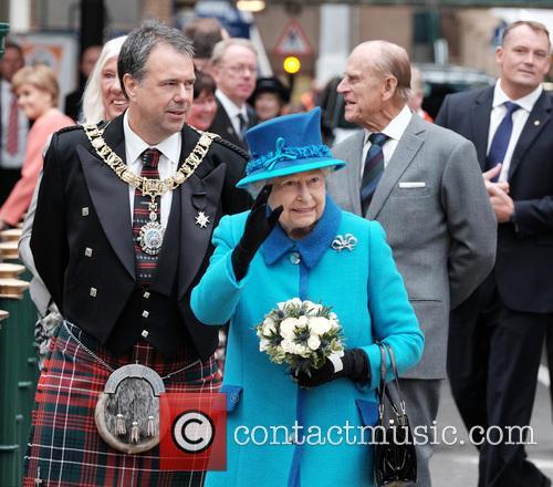 The Rt. Hon. Donald Wilson, Queen Elizabeth Ii and The Duke Of Edinburgh 3