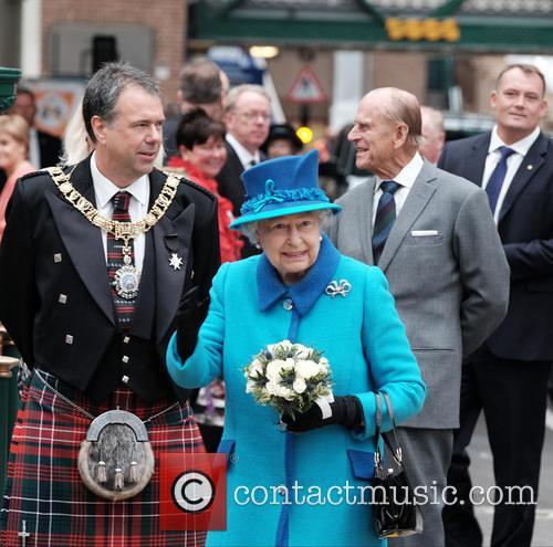 The Rt. Hon. Donald Wilson, Queen Elizabeth Ii and The Duke Of Edinburgh 1