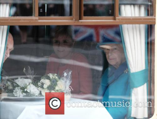 Nicola Sturgeon, Queen Elizabeth Ii and The Duke Of Edinburgh 1