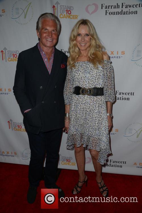 George Hamilton and Alana Stewart 1