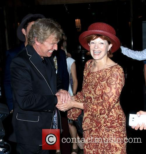 Nigel Lythgoe and Frances Fisher 2