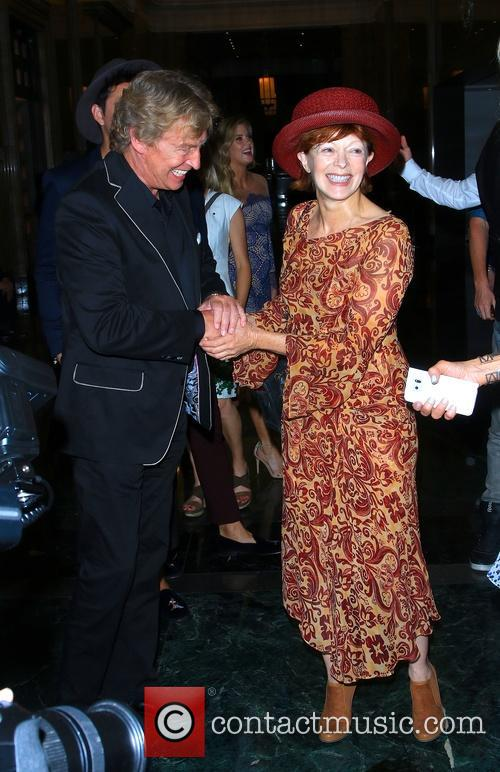 Nigel Lythgoe and Frances Fisher 1